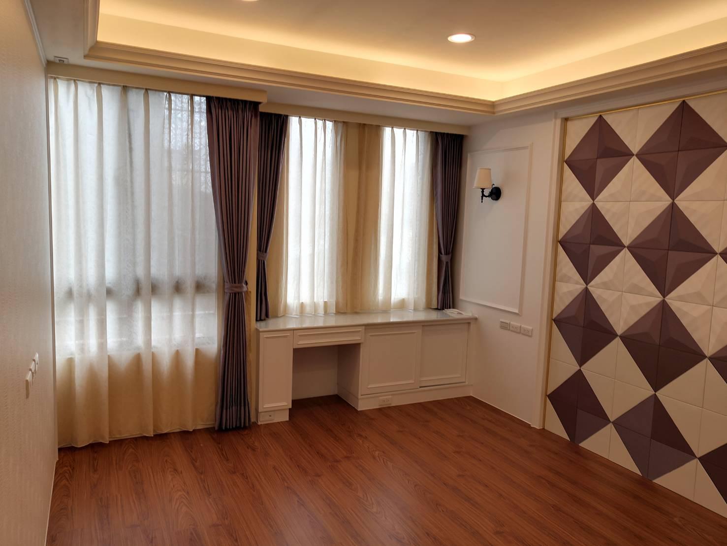 台中便宜窗簾-一布一紗