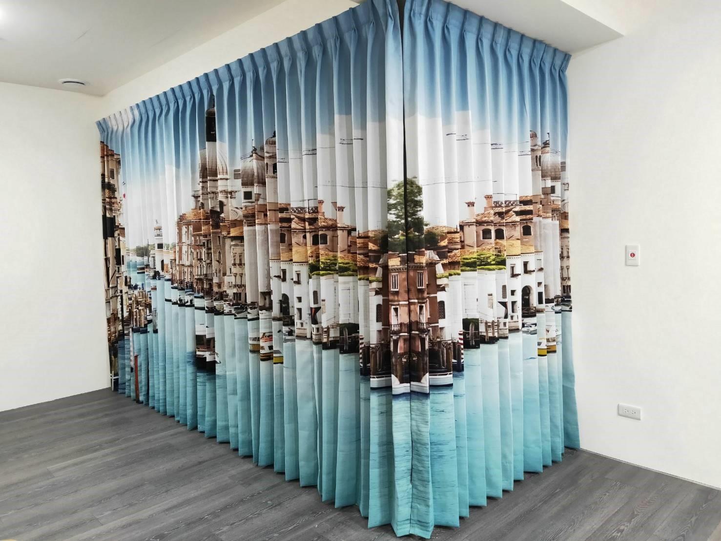 窗簾訂做-折景簾
